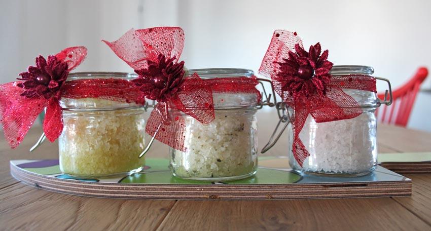 Artisign ideas: sali da bagno handmade per regali dellultimo minuto