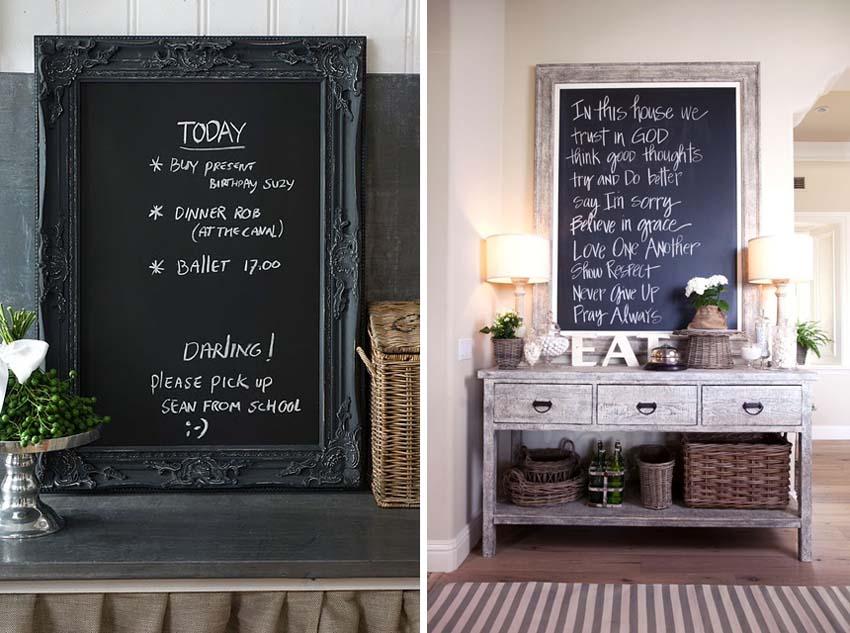 Artisign ideas 8 modi per usare la vernice lavagna - Vernice per ante cucina ...
