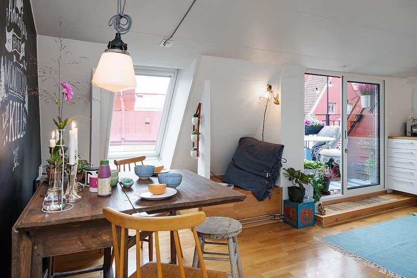 Vivere in piccoli spazi: 5o mq ben organizzati a stoccolma