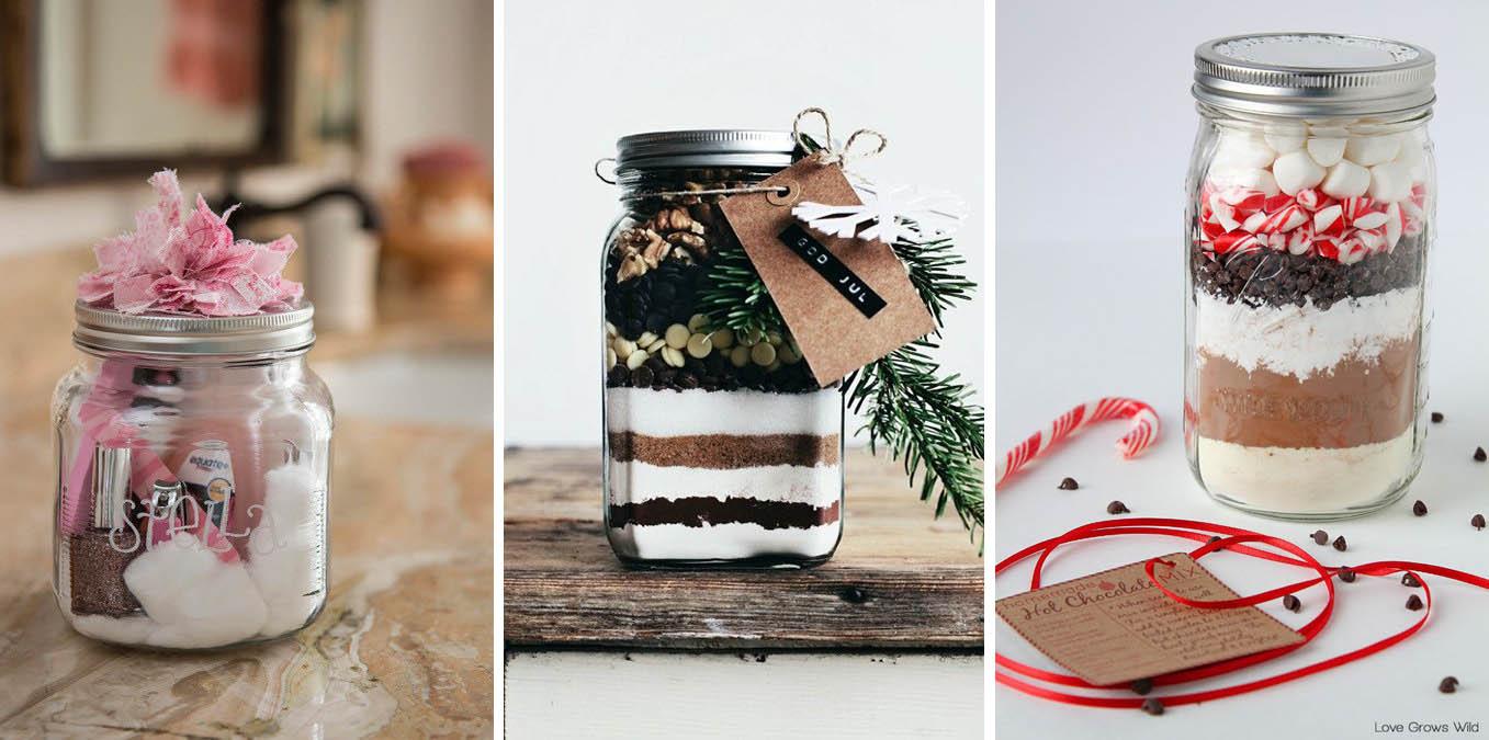 Favorito Barattoli di vetro confezione regalo - decorazioni di Natale fai  RX13