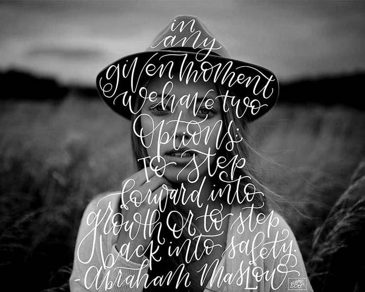 Silhouettes words in human form Hannah Reynolds