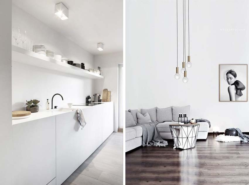 7 modi per arredare casa in stile minimal the eat culture for Casa stile minimal