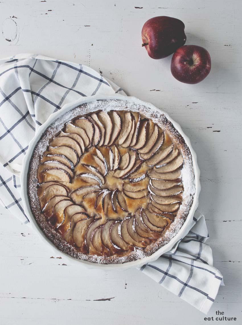 ricetta crostata alle mele senza glutine