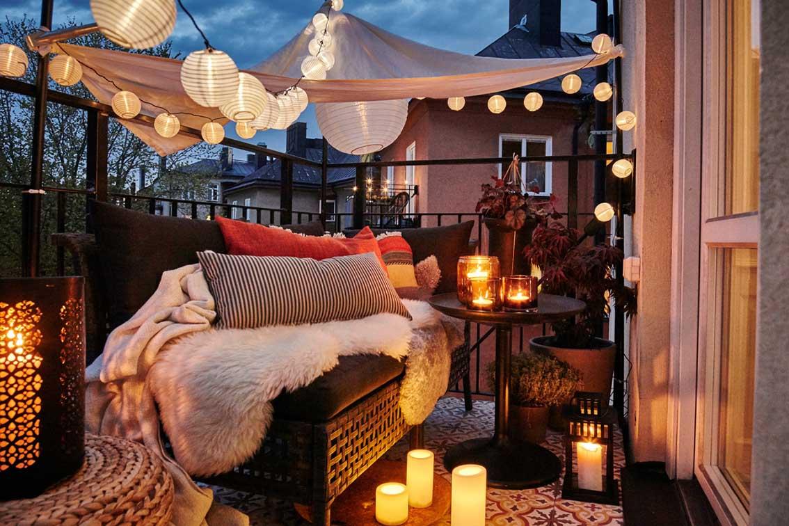 Come Arredare il proprio Terrazzo, Balcone o Portico - The Eat Culture