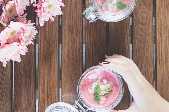 smoothie ai frutti dell'estate