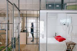 Idee da copiare: Giochi di specchi in 50 mq a Madrid