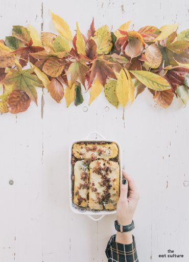 Le ricette di casa: la polenta pasticciata con salsiccia e gorgonzola della nonna Ester