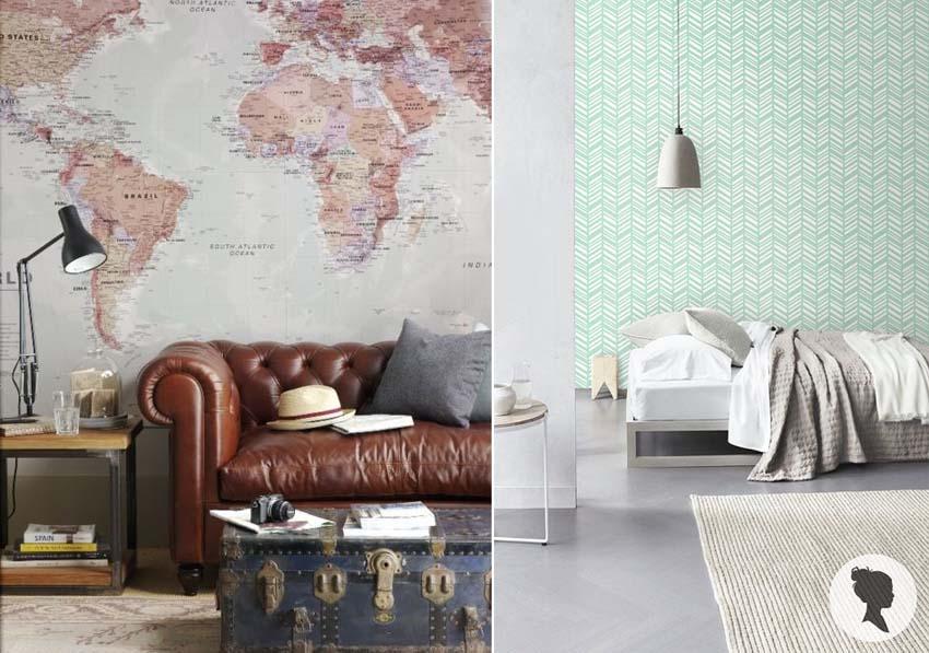 Artisign ideas 8 modi per decorare le vostre pareti for Arredare con la carta da parati