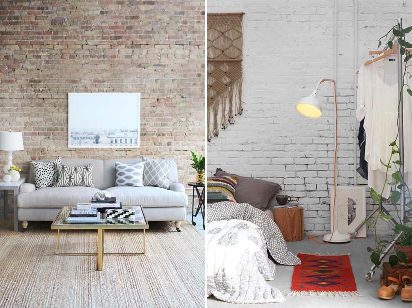 Idee Pareti Foto : Idee per decorare le pareti la parete in mattone the eat culture