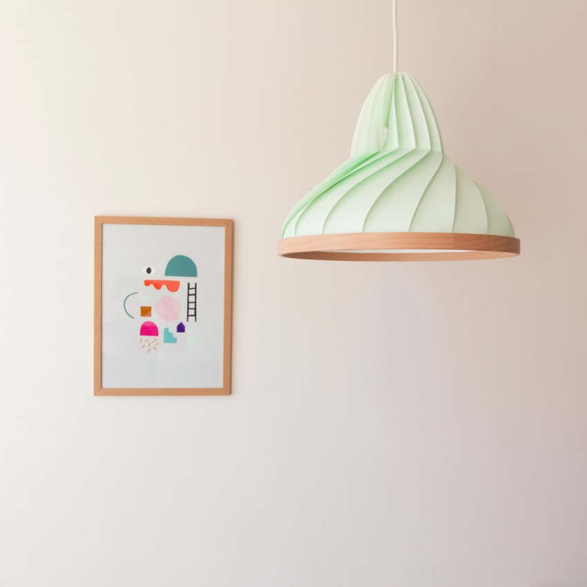 Studio Snowpuppe lampada origami
