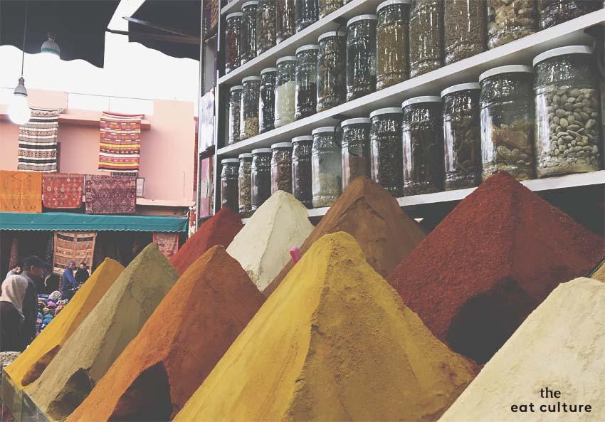 Spezie piazza Kdima - Marrakech