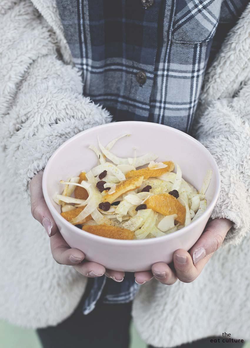 insalata di finocchio all'arancia