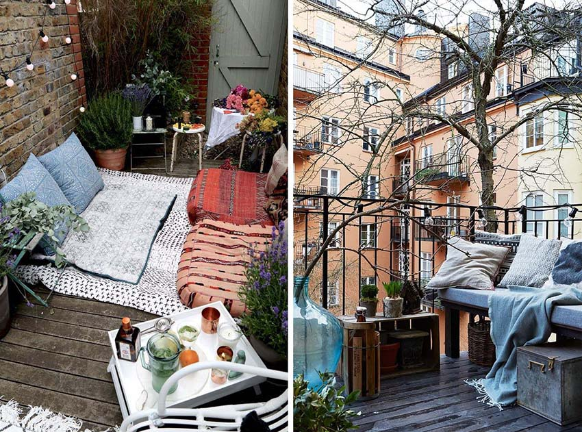 come arredare il proprio terrazzo, balcone o portico