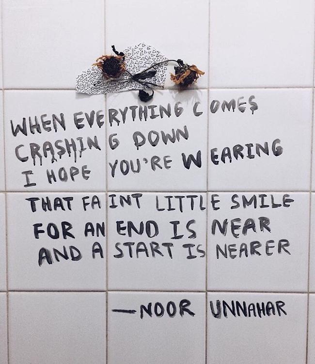 between art and poetry  noor unnahar  i e  what you u2019d call a true talent