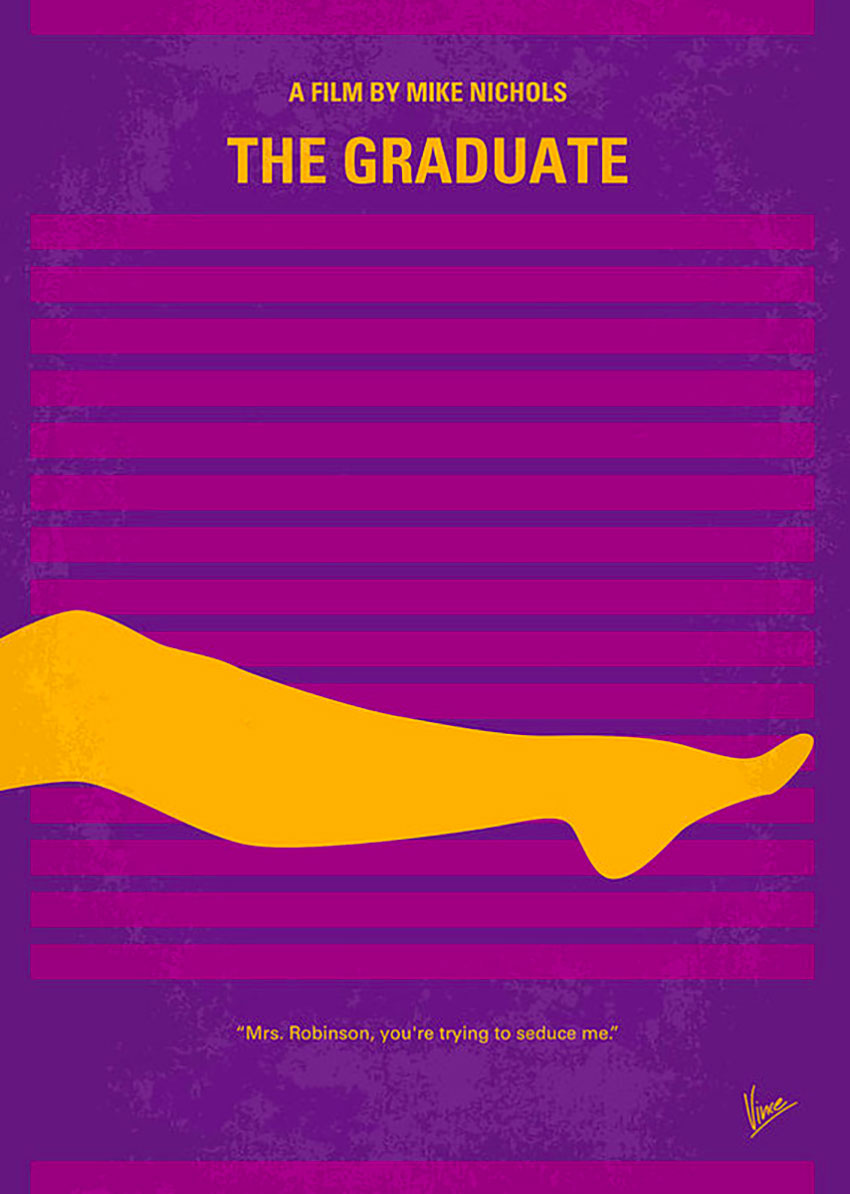 Poster alternativi Il Laureato