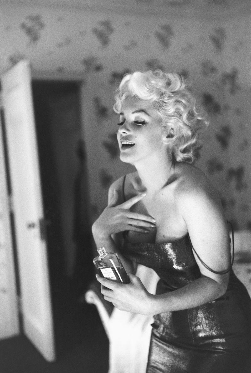 Marilyn Monroe Chanel n°5