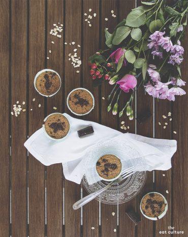 Muffin light banana e cioccolato senza grassi, senza lattosio e senza glutine (eppur buoni)
