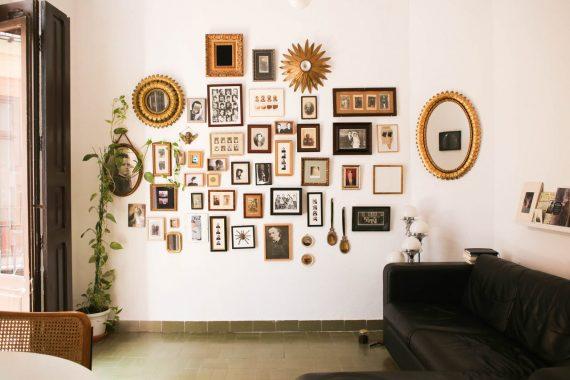 Vivere con poco, vivere minimale. L'appartamento di due musicisti a Valencia.
