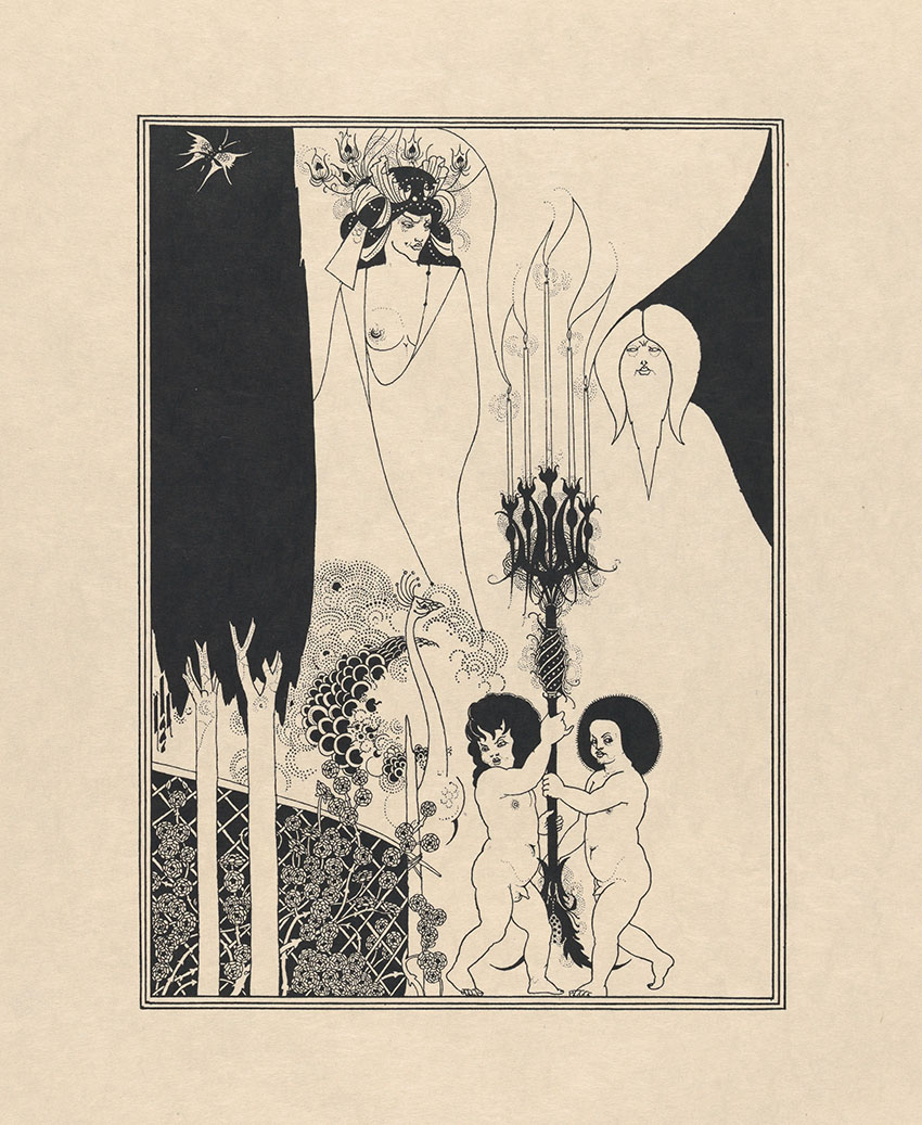 Illustrare Wilde: Aubrey Beardsley