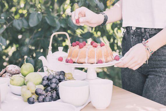 Cake allo yogurt e limone