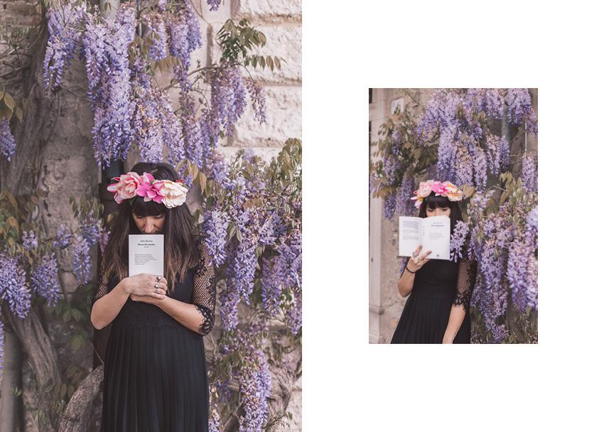 La poesia di Alda Merini nel libro Fiore di Poesia.