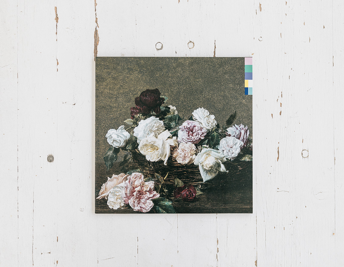 Storia della copertina Power, Corruption and Lies dei New Order su cui è raffigurato il dipinto A Basket of Roses di Henri Fantin-Latour.