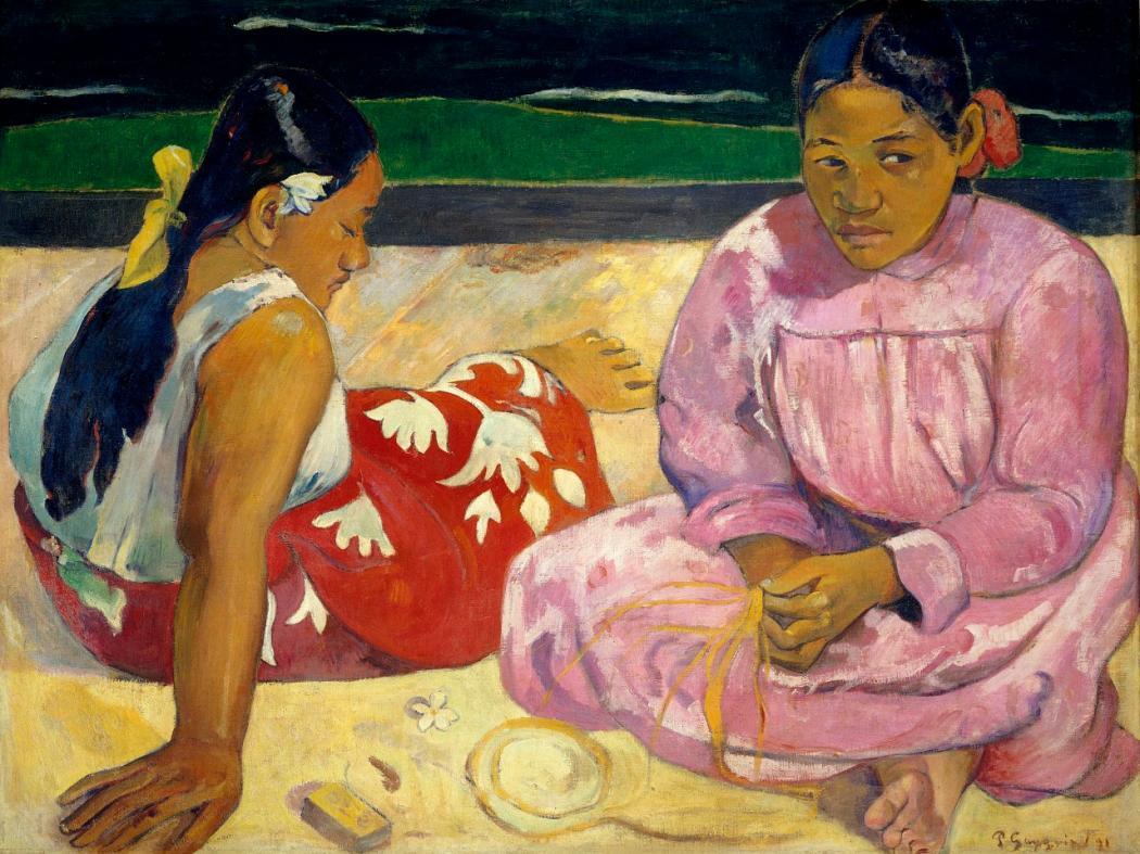 Ritratto Due donne tahitiane di Paul Gauguin