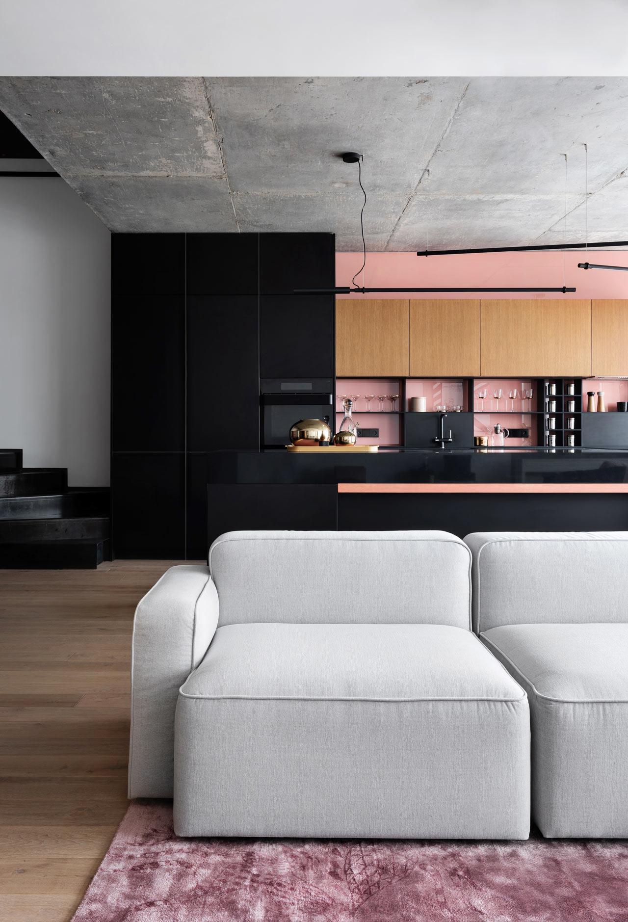 appartamento design minimal a kiev