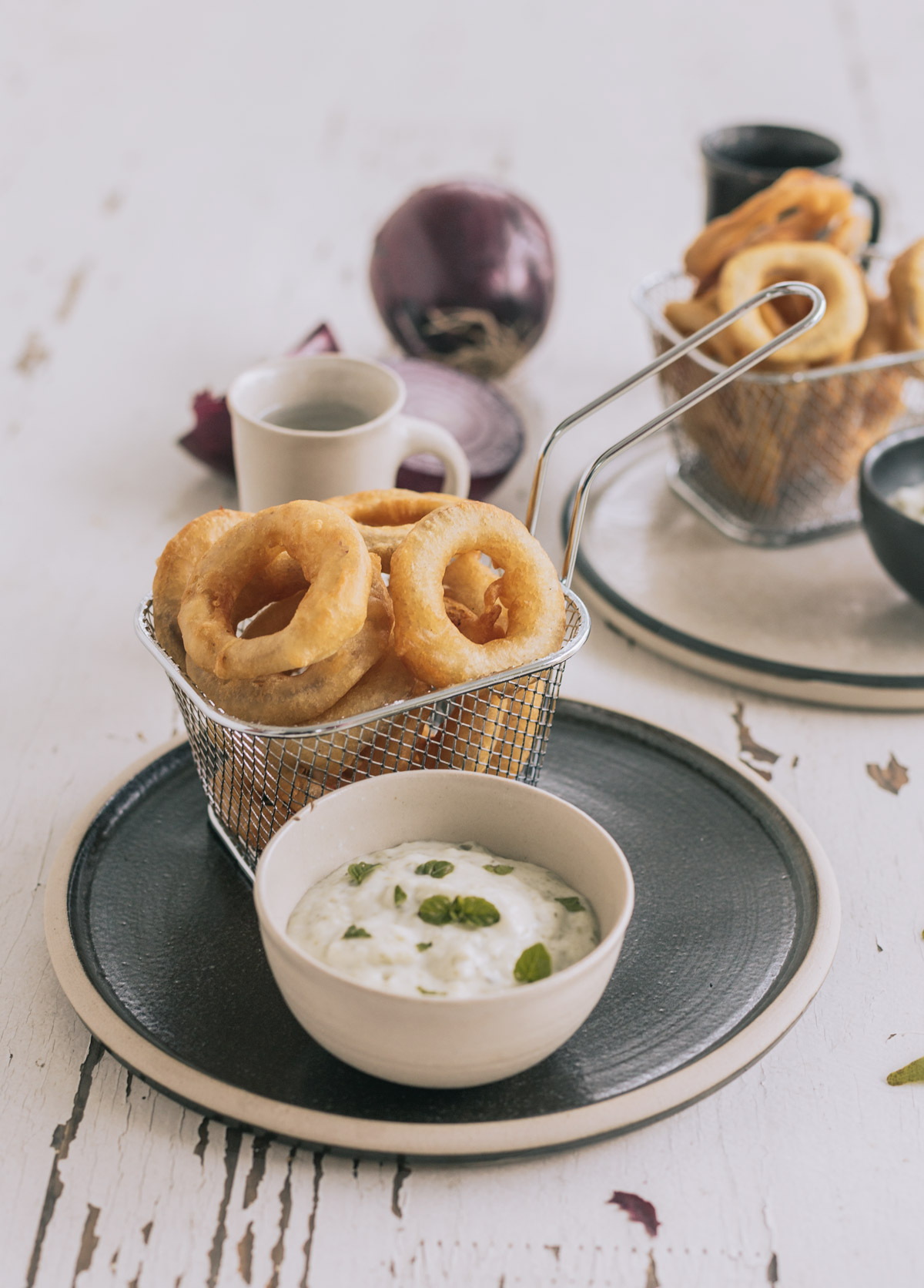 anelli di cipolla fritti o onion rings la ricetta