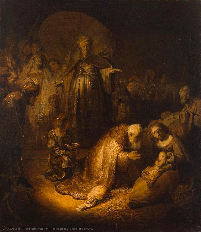 L'adorazione dei magi un rembrandt a Parma
