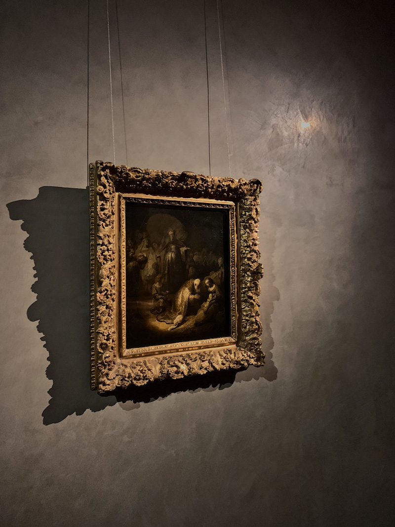 L'adorazione dei magi Rembrandt