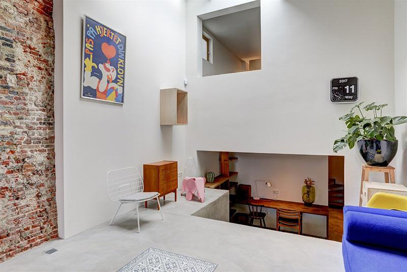 un loft ad Amsterdam dal design moderno