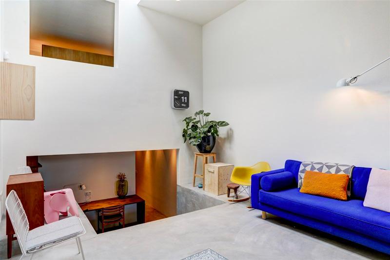 un loft di 90mq a Amsterdam