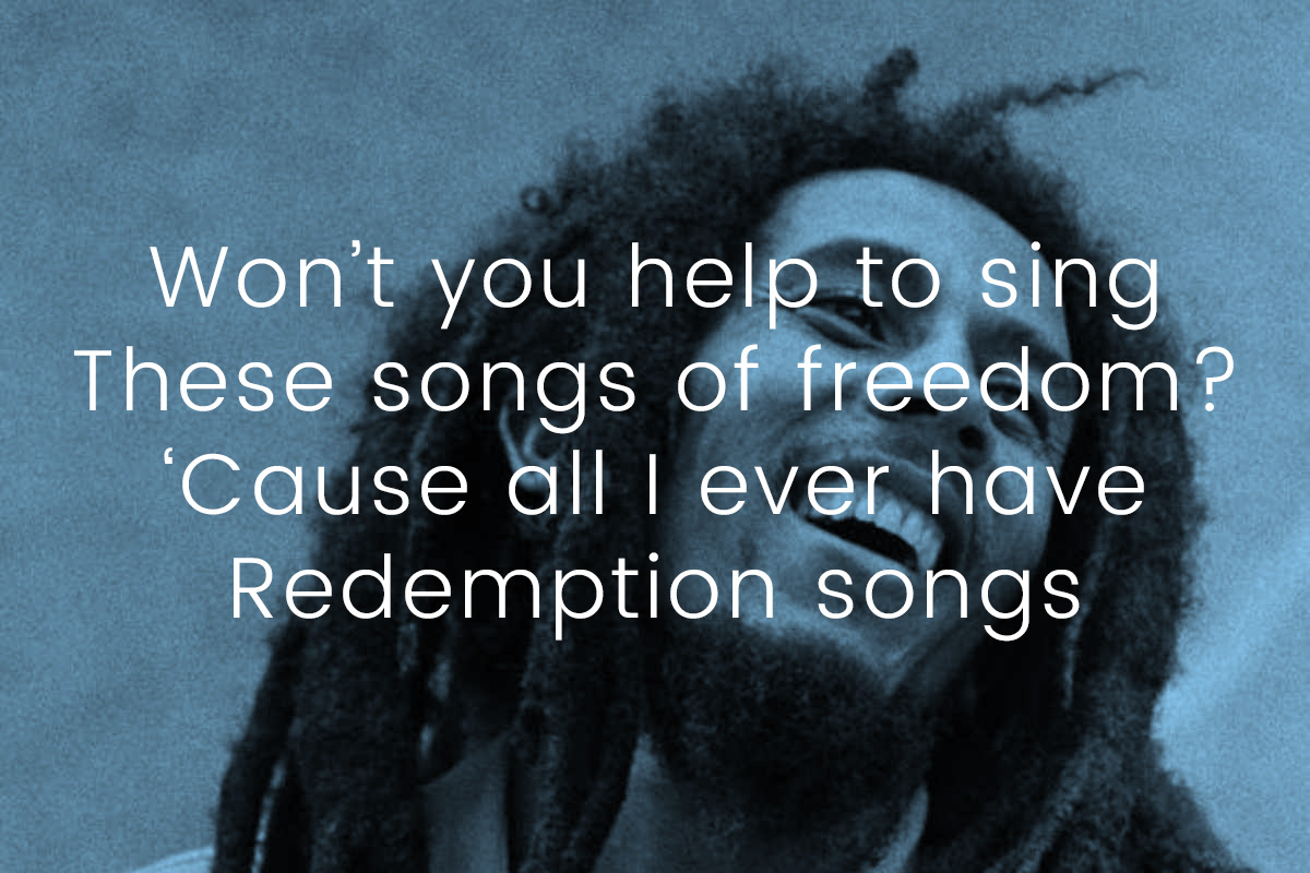 Bob Marley Redemption song storia di una canzone
