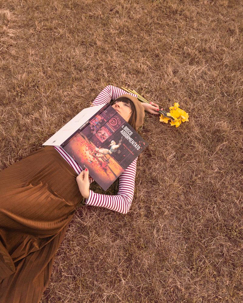 Il bosco addormentato Rebecca Dautremer recensione libro illustrato