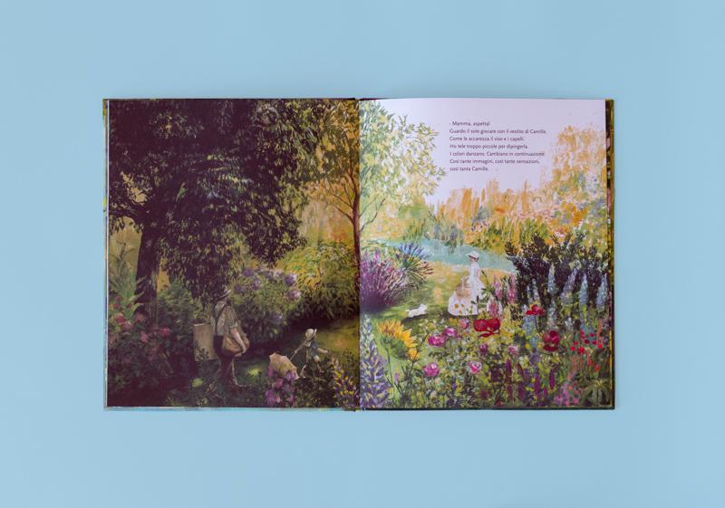 Albo illustrato: Il giardino di Monet edito da Kite Edizioni