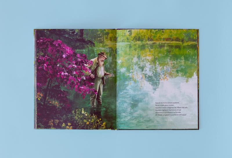 Kaatje Vermeire Il giardino di Monet libro illustrato