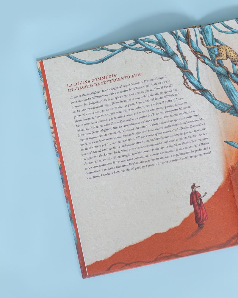 la divina commedia il primo passo nella selva oscura libro illustrato