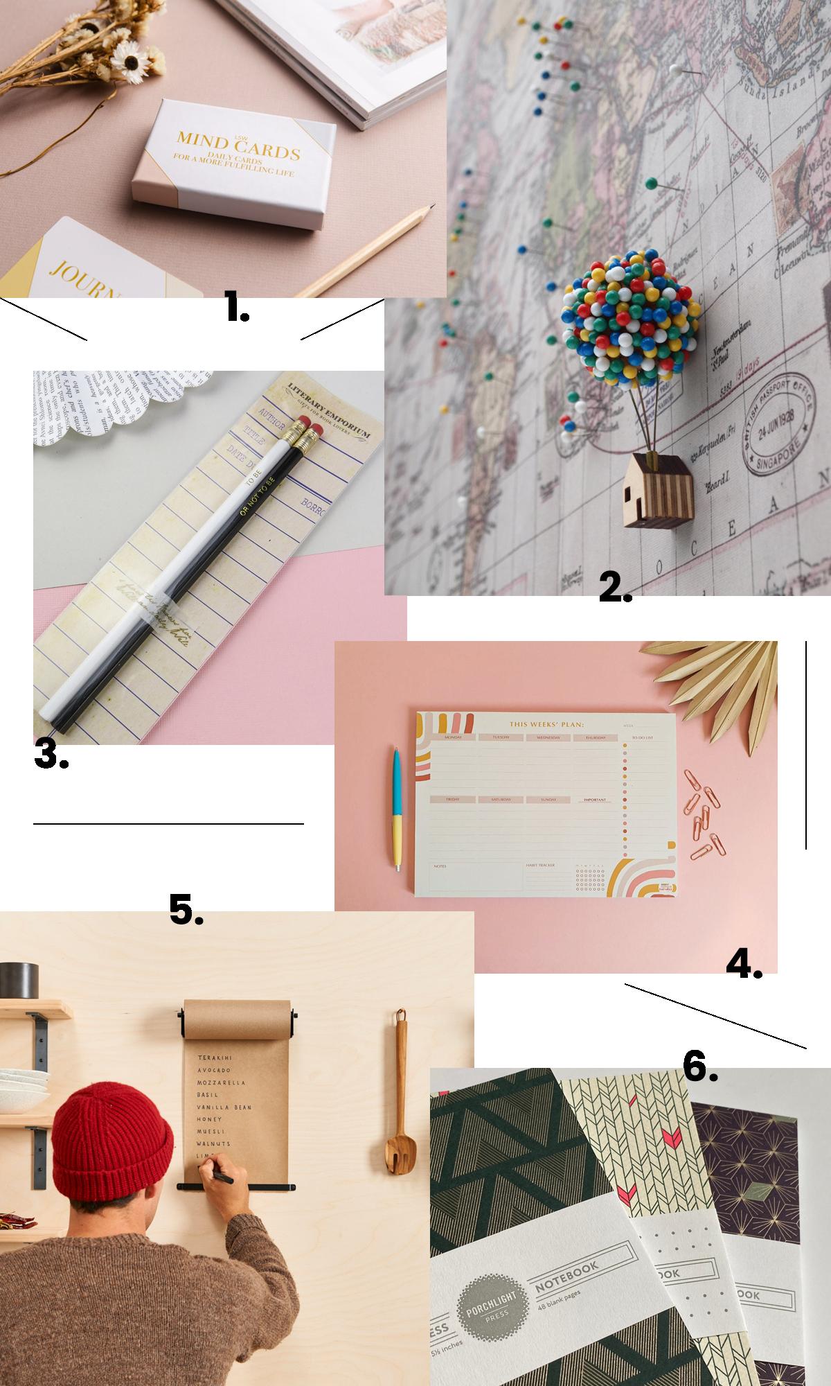 6 prodotti per l'ufficio su Etsy