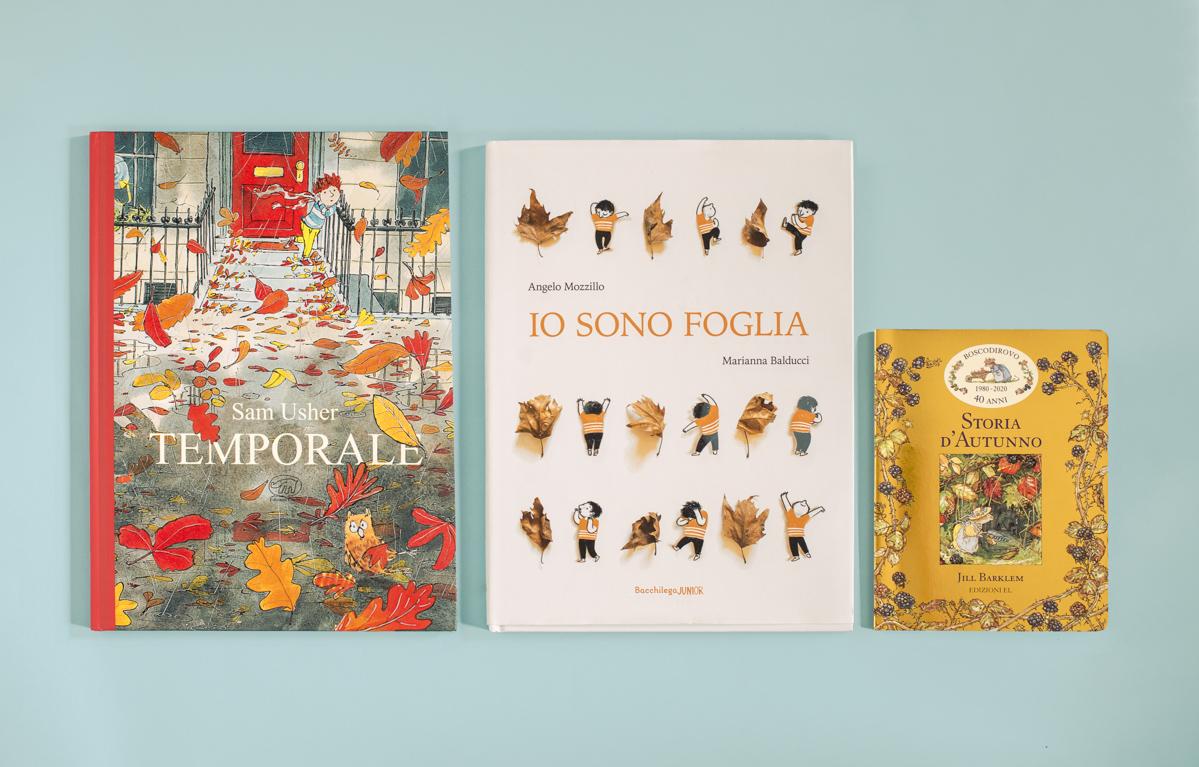 Tre libri illustrati che raccontano l'autunno